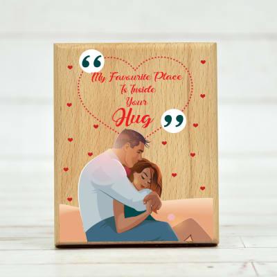 Romantic Quote Frame