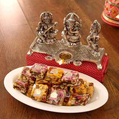 Rose berry sugarfree nutberry with metal laxmi ganesha saraswati rose berry sugarfree nutberry with metal laxmi ganesha saraswati idol negle Image collections