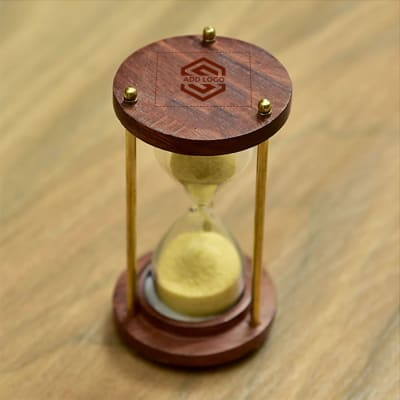Sand Timer - Customize with Logo