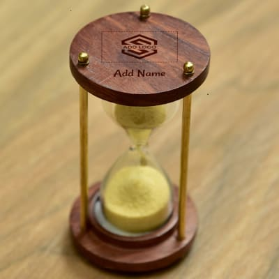 Sand Timer - Customize with Logo and Name