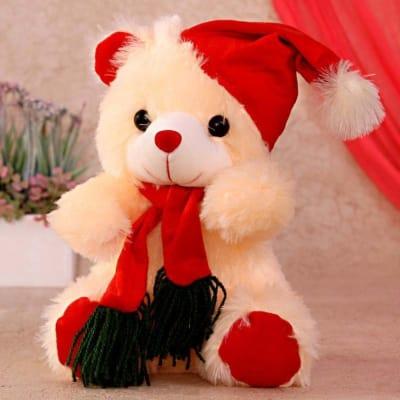 Santa Cap Teddy