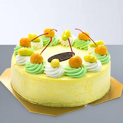Scrumptious Mango Cake (Eggless) (Half Kg)