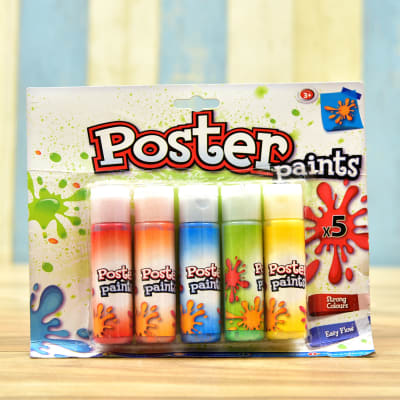 Set of 5 Poster Paints