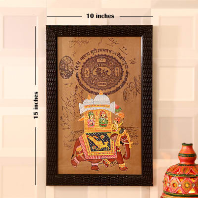 Anniversary gifts for elderly couples gift ideas for older couples shahi ambabadi antique paper painting negle Images