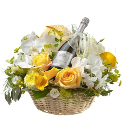 Simply Wonderful ... with Prosecco Albino Armani DOC (75cl) and two sparkling wine flutes