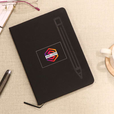 Single Line Magnetic Notebook - Customized with Logo