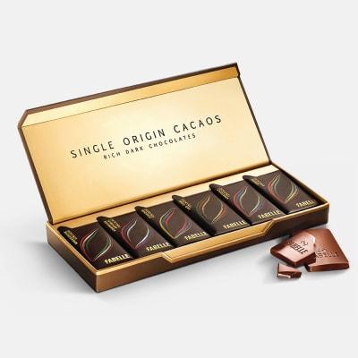 Single Origin Cacaos Premium Chocolates