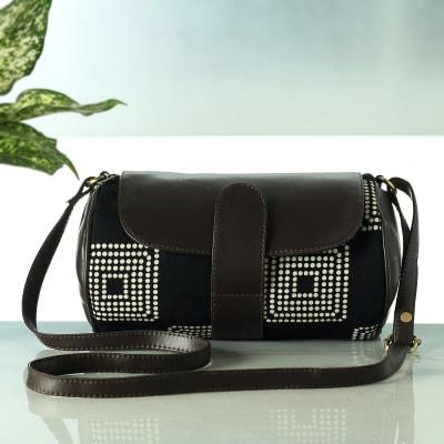Small Stylish Cylindrical Hand Bag