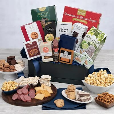 Snack Gift Basket - Premium