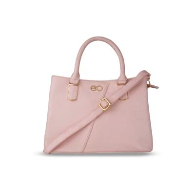 Soft Pink Satchel Handbag