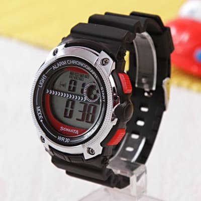 Sonata Digital Sporty Watch For Men