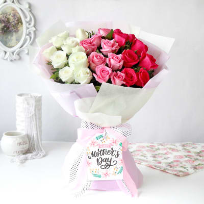 Soothing Assorted Roses for Mother's Day