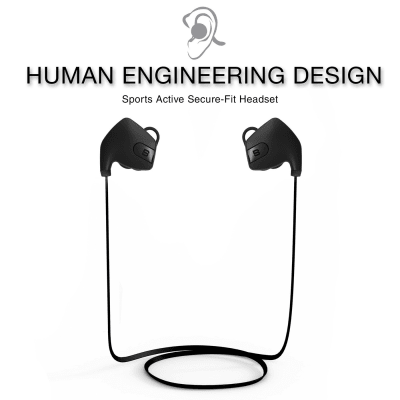 SoundBot SB565 Bluetooth Wireless in ear Headphones with Mic