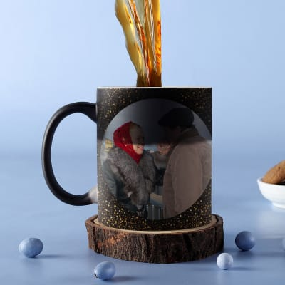 Sparkles and Glitters Personalized Birthday Magic Mug
