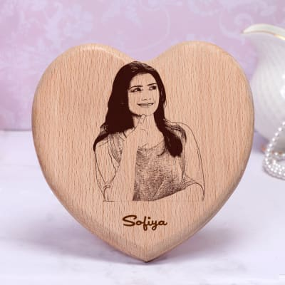 Special Engraved Wooden Photo Frame