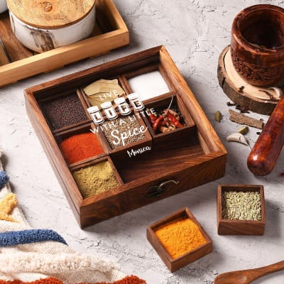 Spicy Squares Personalized Masala Box