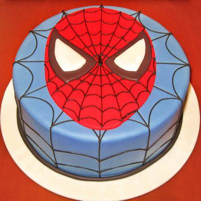Spider-man Fondant Cake (4 Kg)