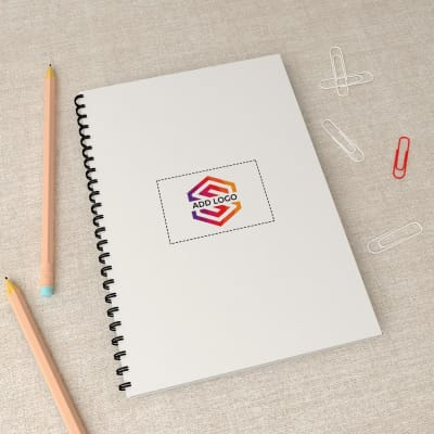Spiral Notebook - Customizable with Logo