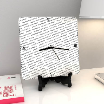 Square Clock - Full Design Customization
