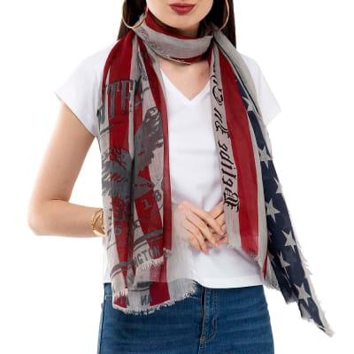 Star Spangled Banner Inspired Stole