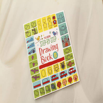 Step By Step Drawing Book-b