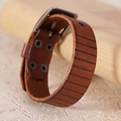 Stylish Brown Wrist Band
