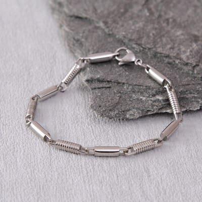 Stylish Steel Bracelet For Men