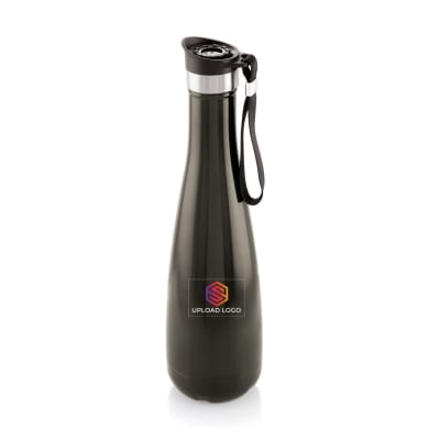Stylized Stainless Steel Bottle - Customized with Logo