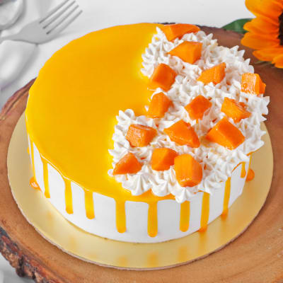Sunshine Mango Cake (Half Kg)
