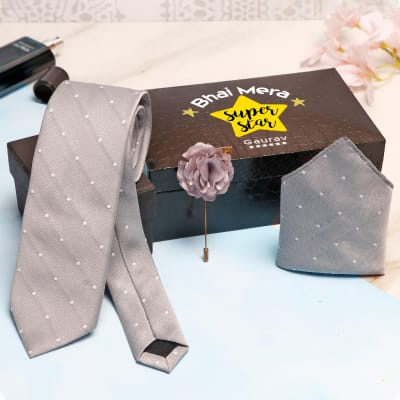 Superstar Bhai Accessory Set In Personalized Box