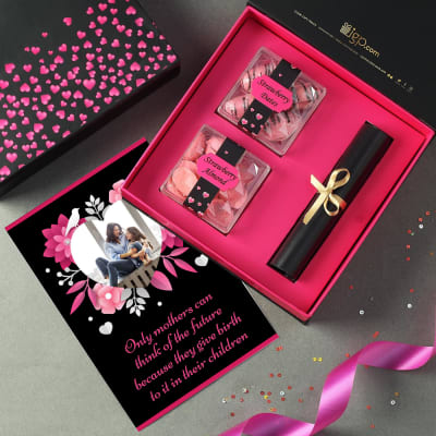 Sweetness Hamper for Mom with Personalized Card