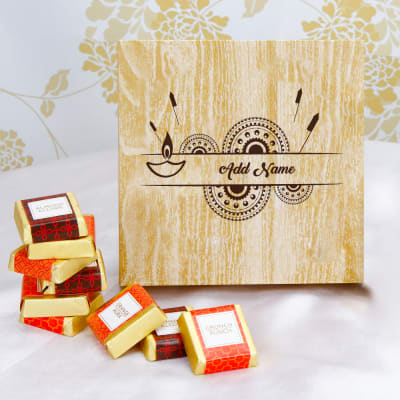 Sweetness of Love Personalized Chocolate Box for Diwali