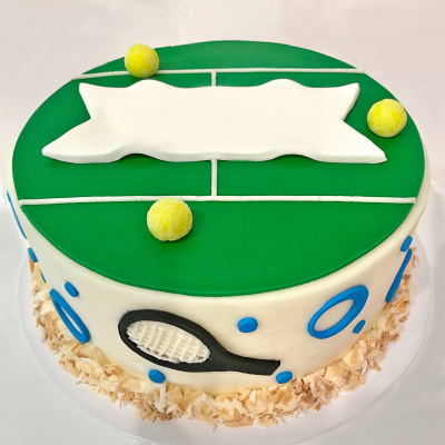 Tennis Court Fondant Cake (4 Kg)
