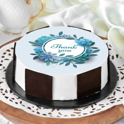 Thank You Message Cake (Half Kg)