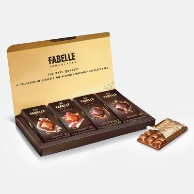 The Bars Quartet Premium Chocolates