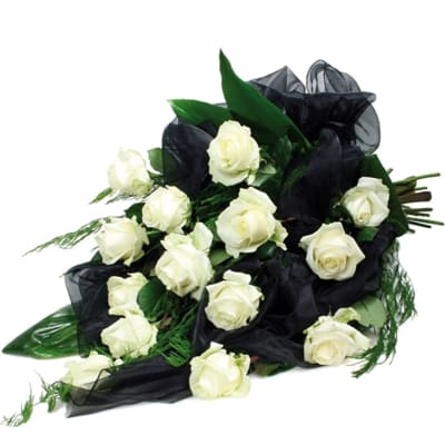 The condolences bouquet
