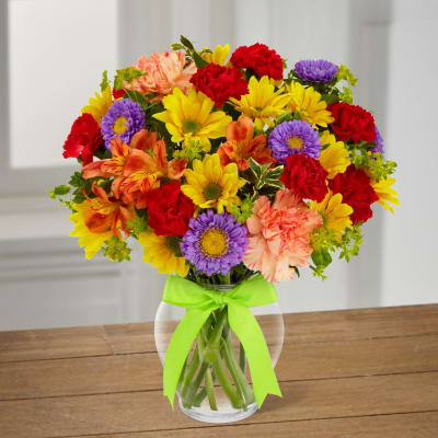 Send gifts to canada flowers cakes online delivery in canada the ftd light lovely bouquet negle Images
