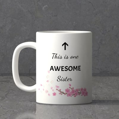 This is One Awesome Sister's Mug