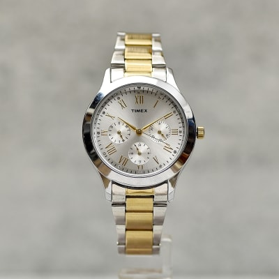 Timex Gold And Silver Men Watch