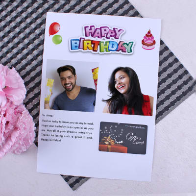 Titan Eye Gift Card With Personalized Birthday Letter 500