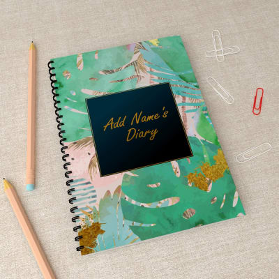 Tropical Love Personalized Notebook Gift Send Home And Living Gifts Online J11043037 Igp Com
