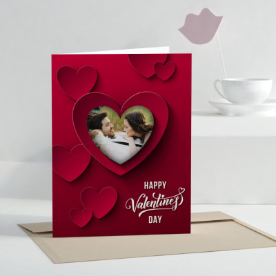 True Love Personalized Greeting Card