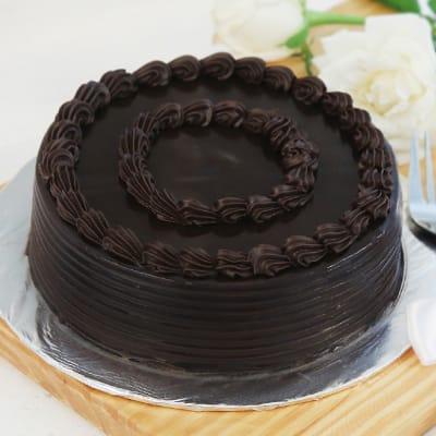 Truffle Chocolate Cake (Half Kg)