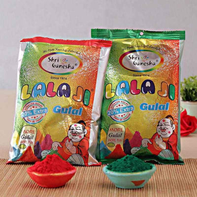 Two Pack of Holi Colors