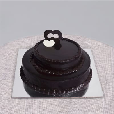 Two Tier Chocolate Cake 3 Kg