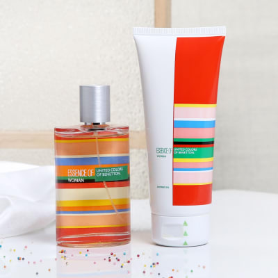 UCB Essence Perfume & Shower Gel Gift Set for Women: Gift/Send ...