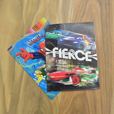 Ultimate Spider-Man and Fierce Coloring Set for Kids