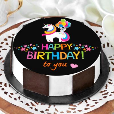 Unicorn Birthday Cake (1 Kg)