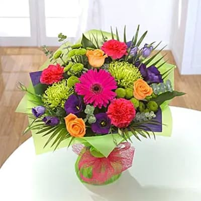Vibrant Hand tied Bouquet