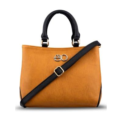 Warm Yellow Satchel Handbag